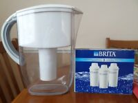 Brita water filter jug and cartridges