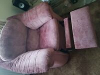 3 seater sofa and recliner armchair FREE