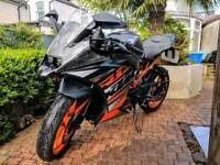 KTM RC 125cc Motorbike. Excellent Condition