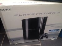 PlayStation 3 boxed