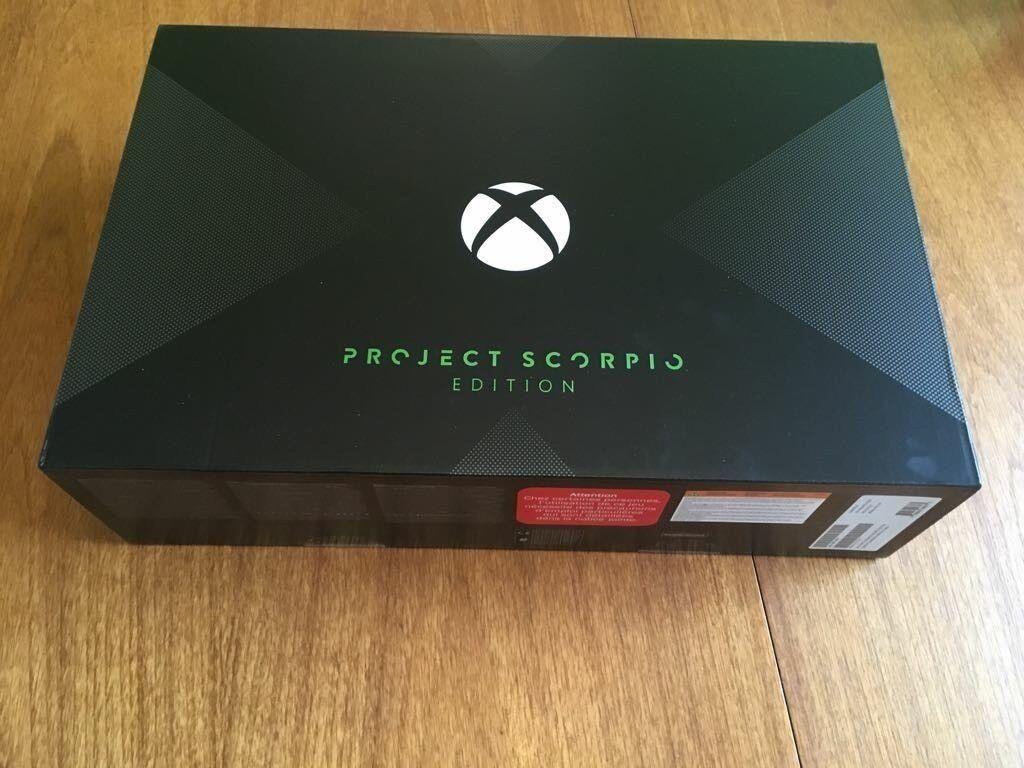 Xbox One X Scorpio Edition 1TB