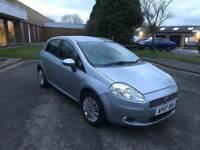 2007 fiat grande punto 1.4 auto 12 months mot/3 months warranty