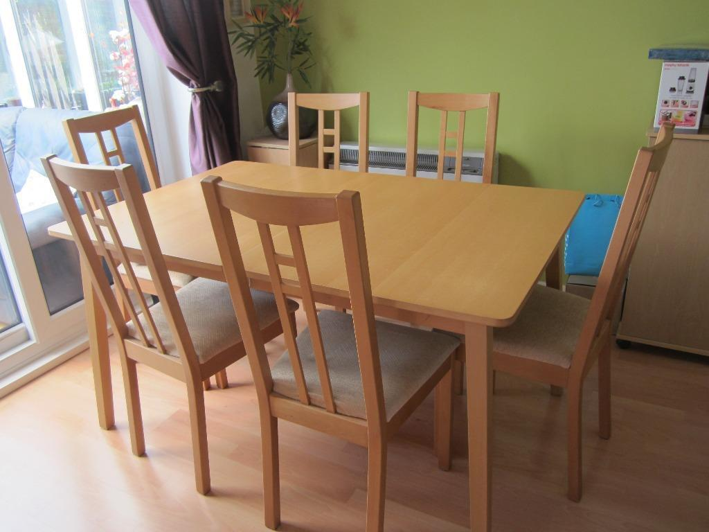 USED dining table and FOUR chairs in Chelmsford Essex  : 86 from www.gumtree.com size 1024 x 768 jpeg 70kB