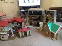 Sylvanian Family house and extras