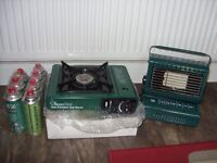 Portable gas Fire & stove