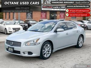 2010 Nissan Maxima SV Accident Free! Locally Owned!