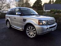 Mint 2007 Land Rover Range Rover Sport HSE TDV8 3.6 Auto.TRADE IN CONSIDERED, CREDIT CARDS ACCEPTED
