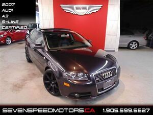 2007 Audi A3 2.0T S-LINE   RS WHEELS   PANORAMIC
