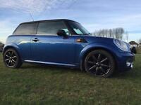 LATE 07 MINI COOPER ONLY 58,000 MILES!ELECTRIC BLUE*LEATHER*CARBON ROOF!MINT CONDITION!BARGAIN!