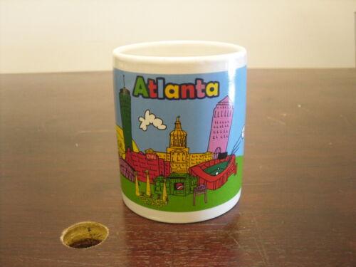 Atlanta Georgia City Souvenir Mug with Landmarks