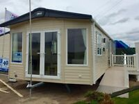 BRAND NEW 2017 LUXURY MODEL STATIC CARAVAN - NEAR BRIDLINGTON - EAST COAST YORKSHIRE - BEACH ACCESS