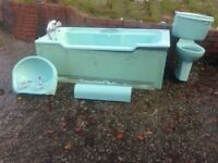 Bathtub, Basin, Toilet Complete Set