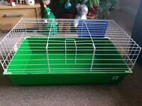 2 mini rabbit/guinea pig indoor cages