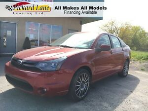 2010 Ford Focus $112.77 BI WEEKLY! $0 DOWN! LEATHER & SUNROOF!