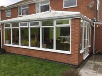 Conservatory for sale approx 6m x 3.5m, buyer to dismantle