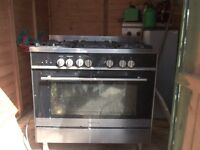 Kenwood CK314A Dual Fuel Range Cooker