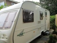 2002 Avondale Dart 5 Birth caravan in good condition