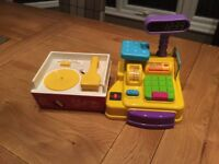 Fisher Price record player and Early learning till