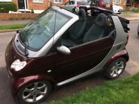 SMART CAR FOR TWO (CITY PASSION CABRIOLET)