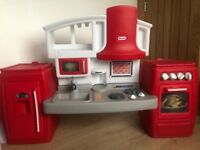 Little tikes 'Cook n Grow' toy kitchen - like new