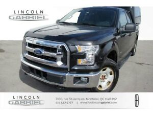 2015 Ford F-150 XLT+SUPPER CAB+4WD+CAMERA+CRUISE+A/C+GROUPE ELEC