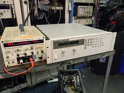 Hp Agilent 6655a 0-120v 0-4a 480-watts Dc Power Supply Hpib Load Tested