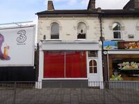 FREEHOLD SHOP WITH 2 BEDROOM FLAT FOR SALE IN LUTON TOWN CENTRE - REFURBISHED