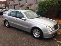 2003 MERCEDES BENZ E220 CDI 6 speed manual 98000 miles with FSH EXCELLENT CONDITIO