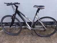 Womens hybrid road city mountain bike saracen. ** i can deliver **