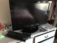 LG 32 inch TV Hd with stand and wall bracket