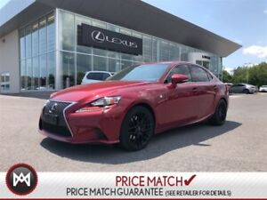 2015 Lexus IS 350 F Sport Series Rare find RWD!
