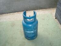 Full propane gas bottle + 1 x Part full