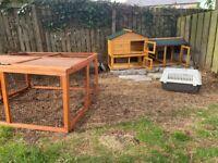 Rabbit or small pet hutch