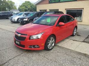 2012 Chevrolet Cruze LT Turbo+ w/1SB London Ontario image 1