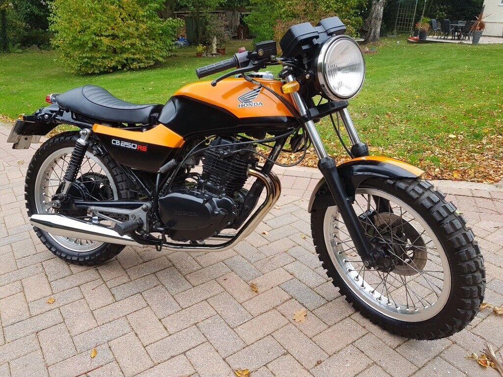 Honda CB250 RS Cafe Racer 1980 19k In Mold Flintshire Gumtree