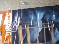 Shelves strong avasco industries 200 x 120 x 50 for garage etc.