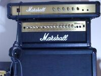For Sale - Marshall MG100HDFX Amp Head and Marshall 4 x 12 100 W Cabinet