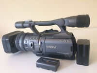 Sony HDR-FX7 camcorder gear up kit