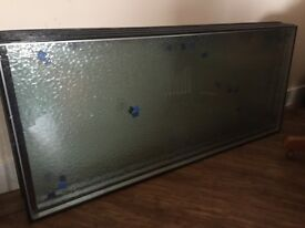 4 x frosted glass NEW * £150
