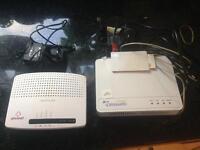 Plusnet router and open reach modem