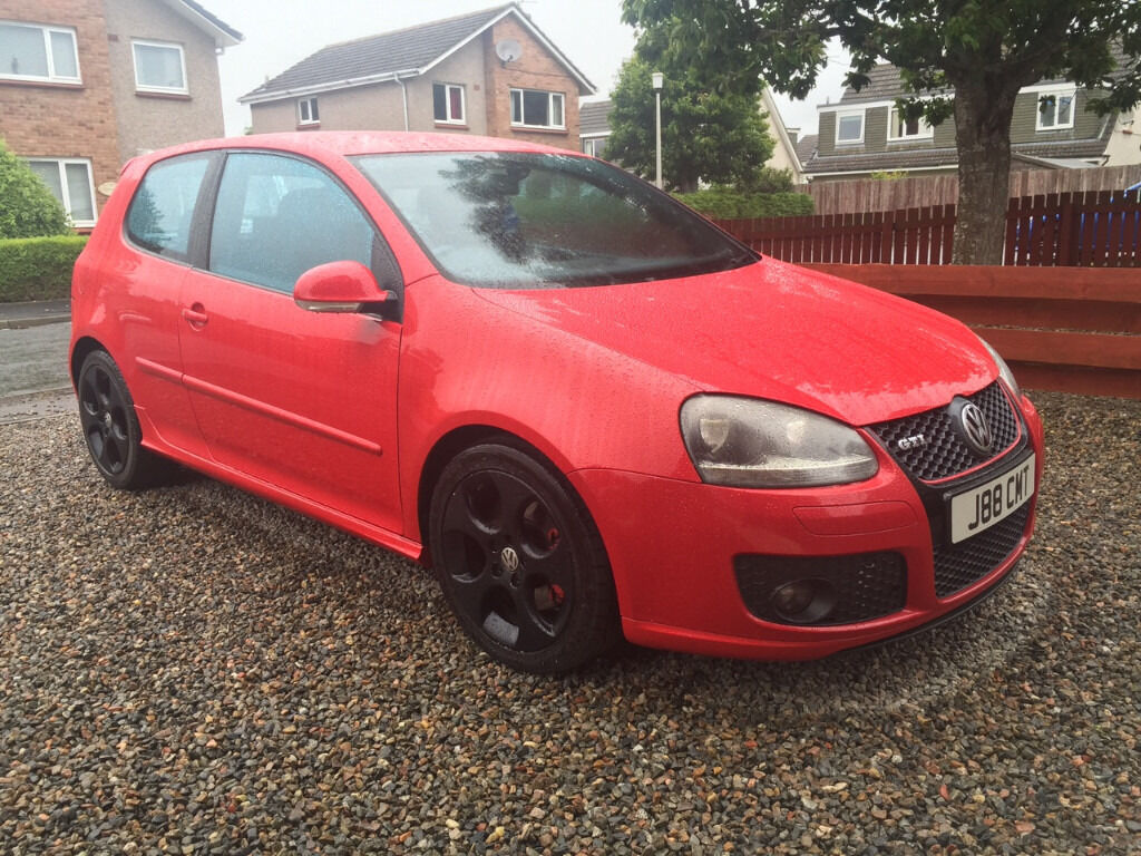 golf gti red 3 door mark 5 2005 model 2 0 litre turbo in inverness highland gumtree. Black Bedroom Furniture Sets. Home Design Ideas