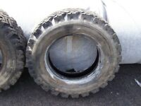 Land Rover 7.50 X 16 tyres
