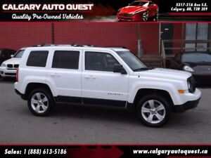 2011 Jeep Patriot Limited 4WD/NAVIGATION/LEATHER/ROOF