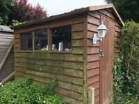 Used wooden garden shed 8' X 6'