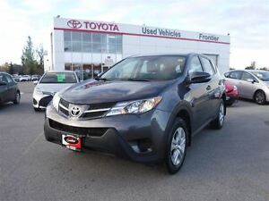 2015 Toyota RAV4 LE TOYOTA CERTIFIED PRE OWNED