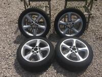 Bmw 1 series alloys funflats alloy wheels