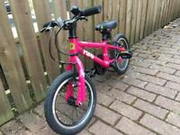Child's Frog Bike (43), Bright Pink- Excellent Condition