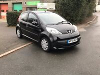 Peugeot 107 1.0 Urban 2Tronic Semi Automatic, Only 27000 miles
