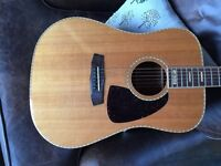 1975 Paul Brett Acoustic Aria Japan Rare Mint