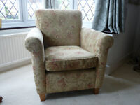 2 Wesley Barrell Armchairs in good condition